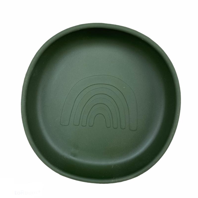Silicone plate rainbow - hunter