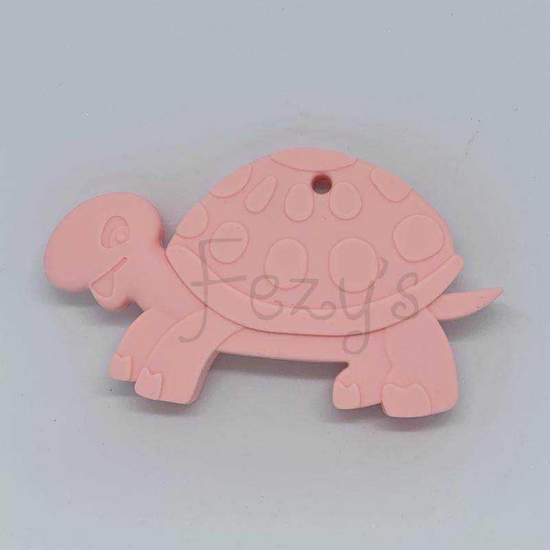 Schildpad - licht roze