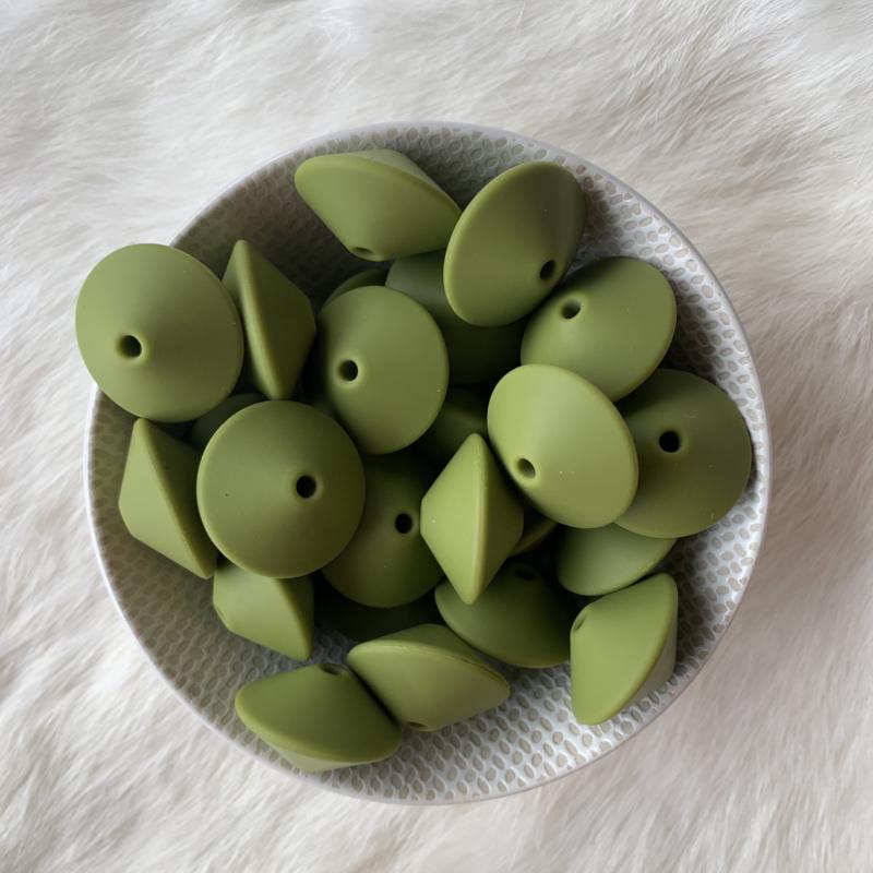 Discus 25mm - leger groen