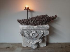 Stenen ornament beton console grijs landelijk sober 1