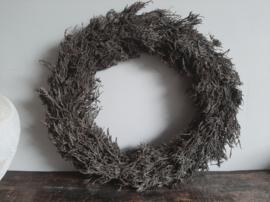 Krans iron bush naturel doorsnede 48 cm
