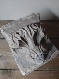 Stenen ornament beton console grijs landelijk sober 2