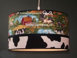Jongenslamp boerderij dieren