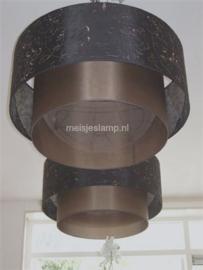 hanglampen bruin