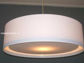 Hanglamp wit onderplaat