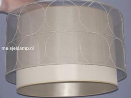 Hanglamp doorzichtig touw