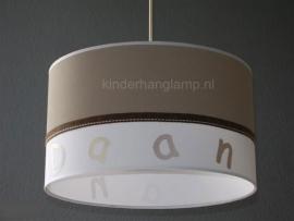 Jongenslamp met naam Daan
