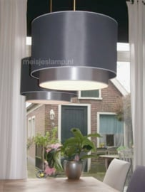 Hanglampen lichtgrijs en grijs