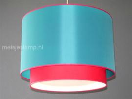 Hanglamp groen en rood