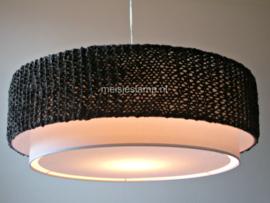 gebreide hanglamp