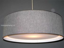 Hanglamp grijze stof