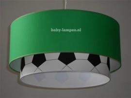 jongenslamp voetbal groen zwart wit