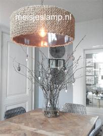 hanglamp touw boven eettafel