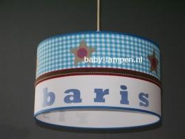 Jongenslamp met naam Baris