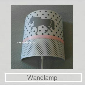 Wandlamp kinderkamer