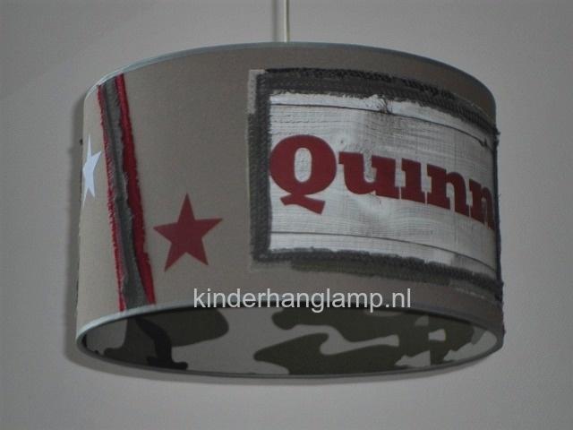 jongenslamp army legerlamp met naam