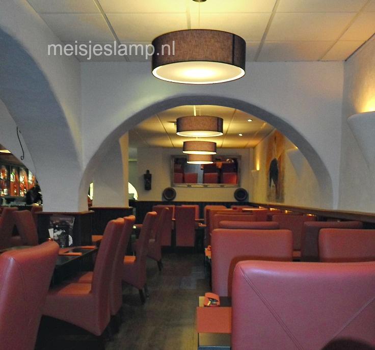 Hanglampen restaurant