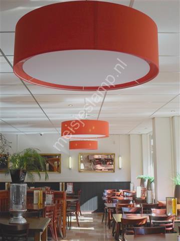 Rode lampen