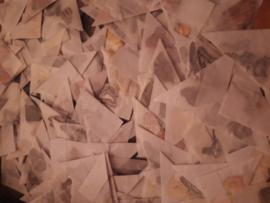 Mix vlinders 50 stuks ongeprepareerd