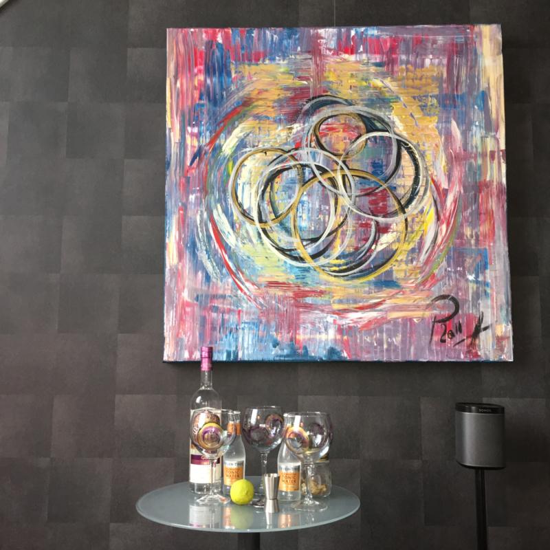 Schilderij op doek