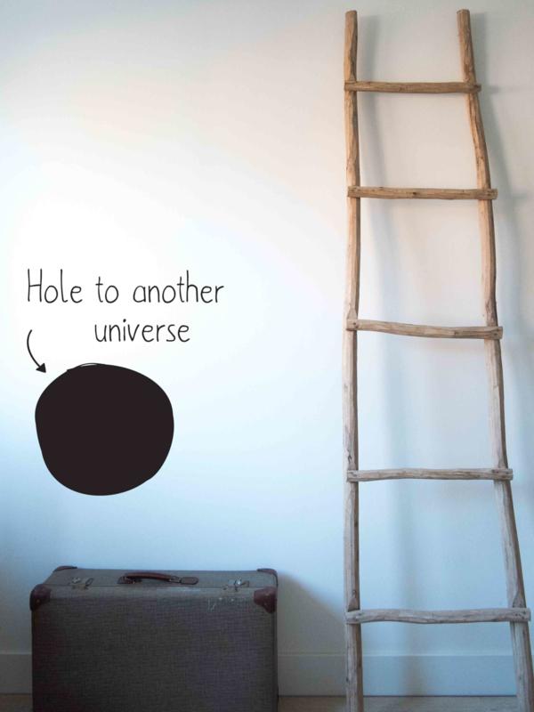 Muursticker Another Universe