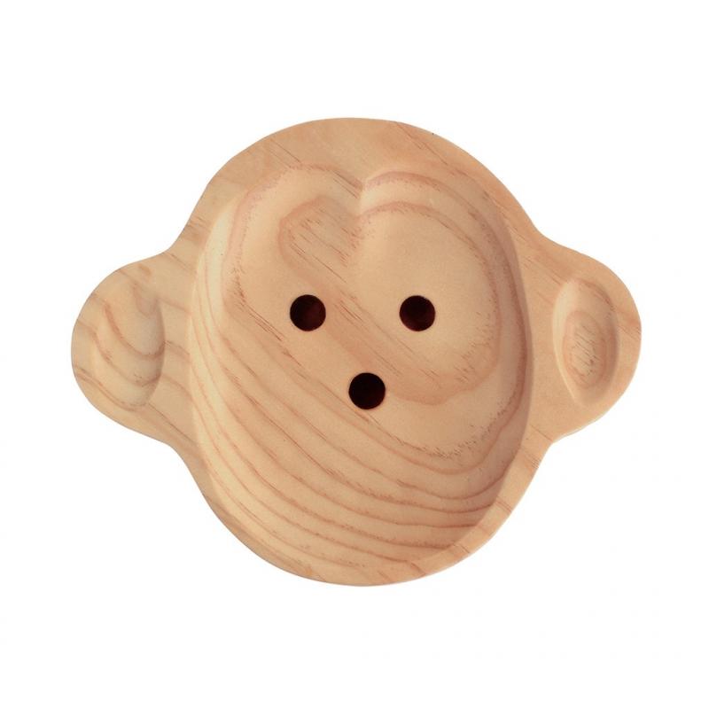 Houten bord aap