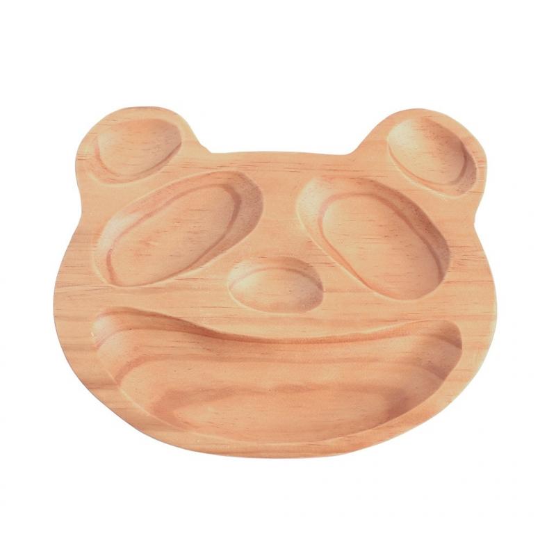 Houten bord panda