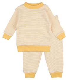 Feetje pyjama yellow ochre