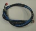 Hydrauliek slang 1850mm 90 graden