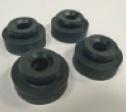 rubberdempers voor de radiateur