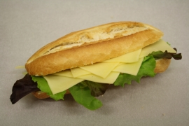 Belegd broodje kaas (diverse varianten)