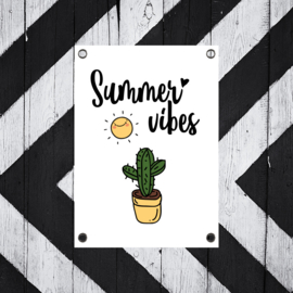 Tuinposter Summer Vibes