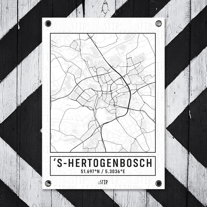 Tuinposter Den Bosch