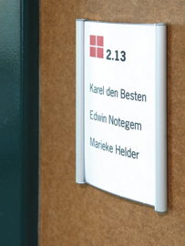 Bewegwijzering Binnen 'Wandbord' Systeem P