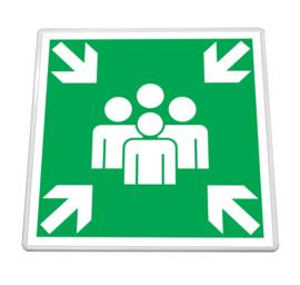 Verkeersbord vierkant