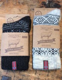 Noorse sokken | wolblend