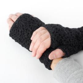 Handwarmers wol | Zwart