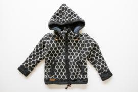 Wollen kindervest | Beehive dark