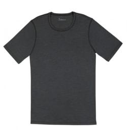 Heren shirt Grijs | Wol/zijde