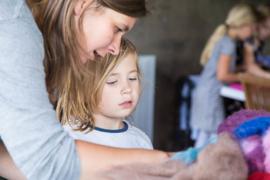 Op aanvraag | Ouder en kind workshop vilten