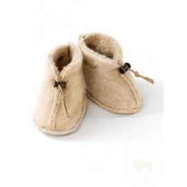 Babyslofjes Emo Wool | Beige
