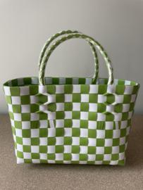 Cadeau tasje (groen) 25 x 10 x 16 cm