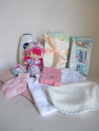 Kraamcadeau geschenkdoos meisje