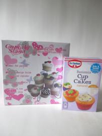 Cupcake cadeauset
