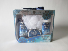 Midnight Frost Bath Set