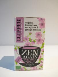 Clipper thee organic zen again 20 zakjes