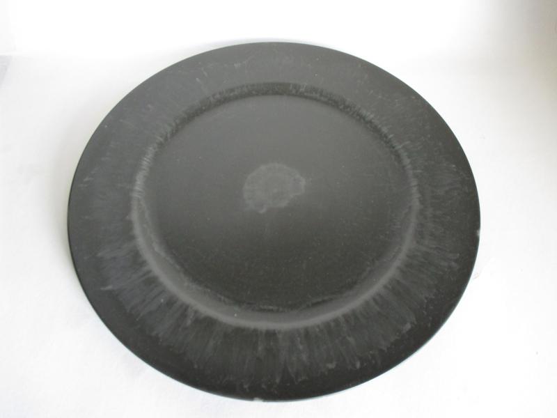 Cadeau plateau  33 cm  antraciet