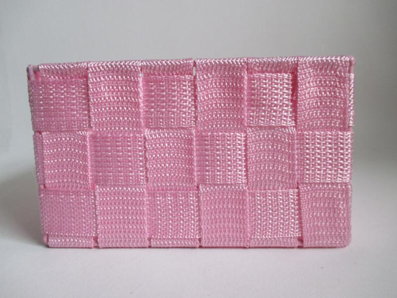 Cadeaumand roze 17 x 17 x 10 cm