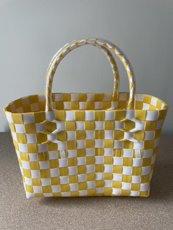 Cadeau tasje (geel) 25 x 10 x 16 cm