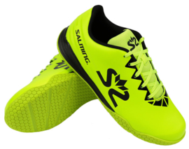 Salming spark shoe kid safety yellow